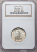 Standing Liberty Quarters: , 1924 25C MS64 NGC. NGC Census: (199/175). PCGS Population(238/155). Mintage: 10,920,000. Numismedia Wsl. Price forproblem...