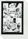 """Original Comic Art:Complete Story, Rags Morales and Michael Bair Identity Crisis #7 Complete29-page Story """"The Hero's Life"""" Original Art (DC, 2005)...."""