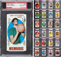Basketball Cards:Sets, 1969-70 Topps Basketball Complete Set (99) - #1 on the PSA SetRegistry! ...