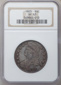 Bust Half Dollars: , 1823 50C XF45 NGC. NGC Census: (75/501). PCGS Population (81/520).Mintage: 1,694,200. Numismedia Wsl. Price for problem fr...