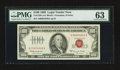 Small Size:Legal Tender Notes, Fr. 1550 $100 1966 Legal Tender Note. PMG Choice Uncirculated 63.. ...
