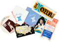 Music Memorabilia:Memorabilia, Elvis In Vegas Collector's Club Package (1970s).... (Total: 4Items)