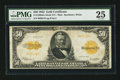 Large Size:Gold Certificates, Fr. 1200a $50 1922 Mule Gold Certificate PMG Very Fine 25.. ...