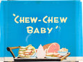 Animation Art:Production Drawing, Chew-Chew Baby Title Card Animation Art Group (Walter LantzProductions, 1945).... (Total: 2 Original Art)