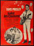 Music Memorabilia:Posters, Elvis Presley Salut Les Cousins! French Grande Movie Poster (MGM, 1964). ...