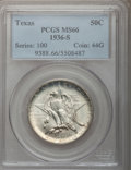 Commemorative Silver: , 1936-S 50C Texas MS66 PCGS. PCGS Population (465/63). NGC Census:(496/65). Mintage: 9,055. Numismedia Wsl. Price for probl...