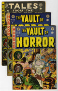 Golden Age (1938-1955):Science Fiction, EC Comics Horror Group (EC, 1952-55).... (Total: 3 Comic Books)
