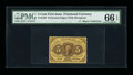 Fractional Currency:First Issue, Fr. 1228 5¢ First Issue PMG Gem Uncirculated 66 EPQ....