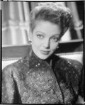 """Movie Posters:Miscellaneous, Loretta Young by John Engstead (Columbia, 1941). Eastman Kodak Safety Film Negative (8"""" X 9.75""""). Miscellaneous.. ..."""