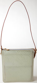 Luxury Accessories:Bags, Heritage Vintage: Louis Vuitton Green Monogram Vernis Mott Bag. ...
