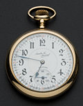 Timepieces:Pocket (post 1900), Illinois 21 Jewel A. Lincoln Santa Fe Special Pocket Watch. ...
