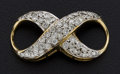 Estate Jewelry:Other , Outstanding Diamond & 14k Infinity Slide. ...