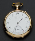 Timepieces:Pocket (post 1900), Howard 17 Jewel 16 Size Pocket Watch. ...