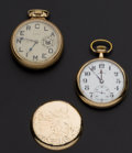 Timepieces:Pocket (post 1900), Illinois Time King & Hamilton 975 Pocket - 17 Jewels PocketWatches. ... (Total: 2 Items)