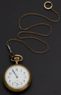 Timepieces:Pocket (post 1900), Illinois 21 Jewel A. Lincoln Pocket Watch. ...