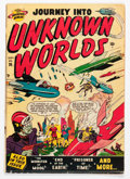 Golden Age (1938-1955):Horror, Journey Into Unknown Worlds #36 (Atlas, 1955) Condition: VG....