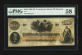 Confederate Notes:1862 Issues, T41 $100 1862 PF-22 Cr. 320A. . ...