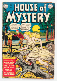 House of Mystery #1 (DC, 1952) Condition: GD