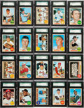 Baseball Cards:Sets, 1968 Topps Baseball High Grade Near Set (560/598) With 449 SGC Graded Cards! ...