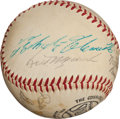 Autographs:Baseballs, Late 1950's Pittsburgh Pirates Signed Baseball with Clemente....