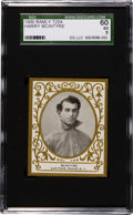 Baseball Cards:Singles (Pre-1930), 1909 T204 Ramly Harry McIntyre SGC 60 EX 5- Pop Two, Only TwoHigher....