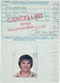 Autographs:Others, 1983 Pete Rose United States Passport....