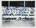 Autographs:Photos, 1962 New York Yankees Team Signed Photograph....
