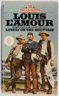 Books:First Editions, Louis L'Amour. INSCRIBED. Lonely on the Mountain. Bantam,1980. Mass market edition, first printing. Signed and in...