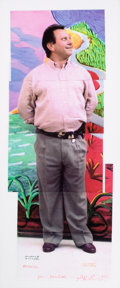 Post-War & Contemporary:Contemporary, DAVID HOCKNEY (British, b. 1937). Untitled, 1991. Color laser-print collage (in 5 sheets). 30 x 11-1/2 inches (76.2 x 29...