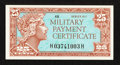 Military Payment Certificates:Series 611, Series 611 25¢ Very Choice New.. ...