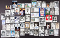 Baseball Collectibles:Photos, New York Yankees Stars Signed Postcards, etc. Lot of 50+....