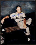 "Baseball Collectibles:Photos, Mickey Mantle ""No. 7"" Signed Oversized Photograph...."