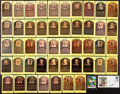 Baseball Collectibles:Others, Hall of Famers Signed Plaque Postcards, etc. Lot of 49....