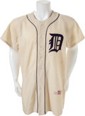 Baseball Collectibles:Uniforms, 1954 Al Kaline Game Worn Detroit Tigers Rookie Uniform, MEARSA9.5...