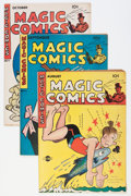 "Golden Age (1938-1955):Miscellaneous, Magic Comics #73-79 Davis Crippen (""D"" Copy) pedigree Group (David McKay Publications, 1940s).... (Total: 7 Comic Books)"