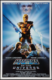 "Masters of the Universe (Cannon, 1987). One Sheet (27"" X 41""). Action"