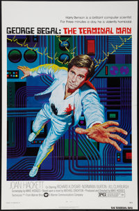 """The Terminal Man (Warner Brothers, 1974). One Sheet (27"""" X 41"""") Flat Folded. Science Fiction"""