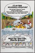 """Movie Posters:Animation, Race for Your Life, Charlie Brown (Paramount, 1977). One Sheet (27"""" X 41"""") Flat Folded. Animation.. ..."""