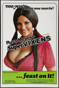 "Movie Posters:Sexploitation, Supervixens (RM Films, 1975). One Sheet (27"" X 41"") Flat Folded.Sexploitation.. ..."