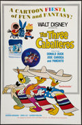 "Movie Posters:Animation, The Three Caballeros (Buena Vista, R-1977). One Sheet (27"" X 41"") Flat Folded. Animation.. ..."