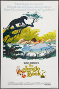 """Movie Posters:Animation, The Jungle Book (Buena Vista, R-1978). One Sheet (27"""" X 41""""). Flat Folded Animation.. ..."""