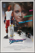 "Movie Posters:Action, Thrashin' (Fries Entertainment, 1986). One Sheet (27"" X 41""). Flat Folded Action.. ..."