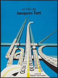 """Trafic (Mr. Hulot) (Columbia, 1971). French Affiche (23"""" X 31""""). Comedy"""