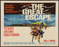 "Movie Posters:War, The Great Escape (United Artists, 1963). Half Sheet (22"" X 28"").War.. ..."