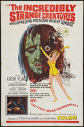 Movie Posters:Horror, The Incredibly Strange Creatures Who Stopped Living and Became Mixed-Up Zombies (Fairway International, 1964). One Sheet (27...