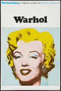 "Movie Posters:Exploitation, Andy Warhol Exhibition Poster (Tate Gallery, 1971). British Poster(20"" X 30""). Exploitation.. ..."