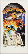 "Movie Posters:Action, The Rocketeer (Walt Disney Pictures, 1991). Autographed Art Print(18"" X 35""). Action.. ..."
