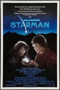 "Movie Posters:Science Fiction, Starman (Columbia, 1984). Autographed One Sheet (27"" X 41"").Science Fiction.. ..."