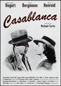 "Movie Posters:Academy Award Winners, Casablanca (Neue Visionen Filmverleih, R-2002). German A1 (23.25"" X33""). Academy Award Winners.. ..."