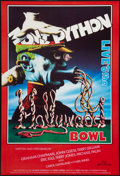 """Movie Posters:Comedy, Monty Python Live at the Hollywood Bowl (Handmade Films, 1982). British One Sheet (27"""" X 40""""). Comedy.. ..."""